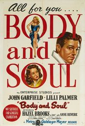 Poster Body and Soul