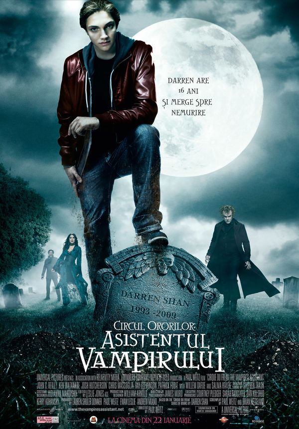 cirque du freak the vampire 39 s assistant circul ororilor asistentul vampirului 2009 film. Black Bedroom Furniture Sets. Home Design Ideas