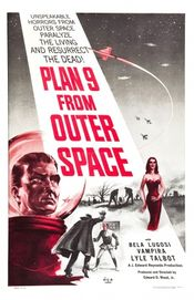 Poster Plan 9 from Outer Space