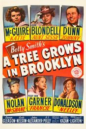 Poster A Tree Grows in Brooklyn