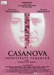 Poster Casanova, identitate feminină