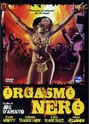 Poster Orgasmo nero