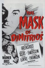 Poster The Mask of Dimitrios