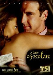 Poster Dame chocolate