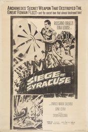 Poster L'assedio di Siracusa