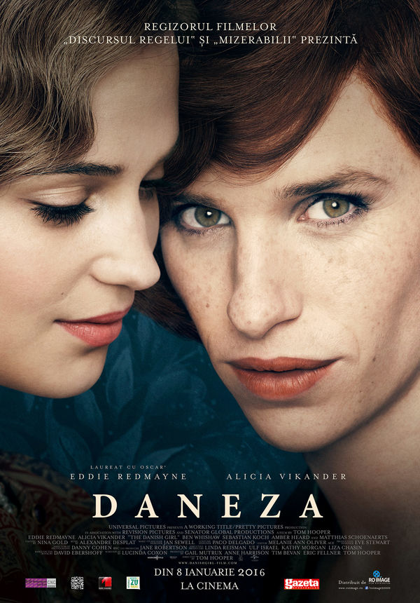 The Danish Girl - Daneza (2015) - Film - CineMagia.ro