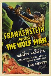 Poster Frankenstein Meets the Wolf Man
