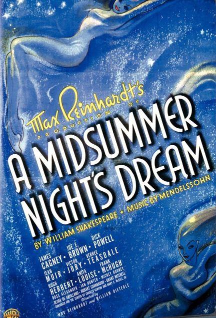 comparing a midsummer night dream originally