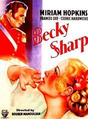 Poster Becky Sharp