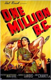 Poster One Million B.C.