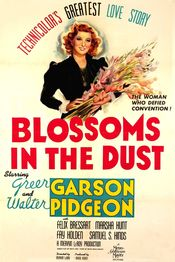 Poster Blossoms in the Dust