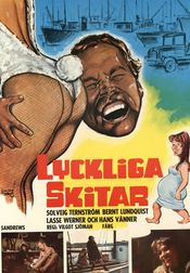 Poster Lyckliga skitar