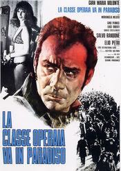 Poster La classe operaia va in paradiso