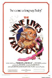 Poster The Nine Lives of Fritz the Cat