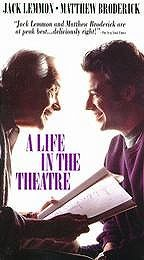 Poster A Life in the Theater