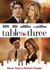 Poster Table for Three