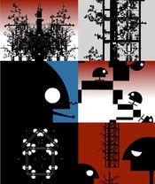 Poster Urban Tree
