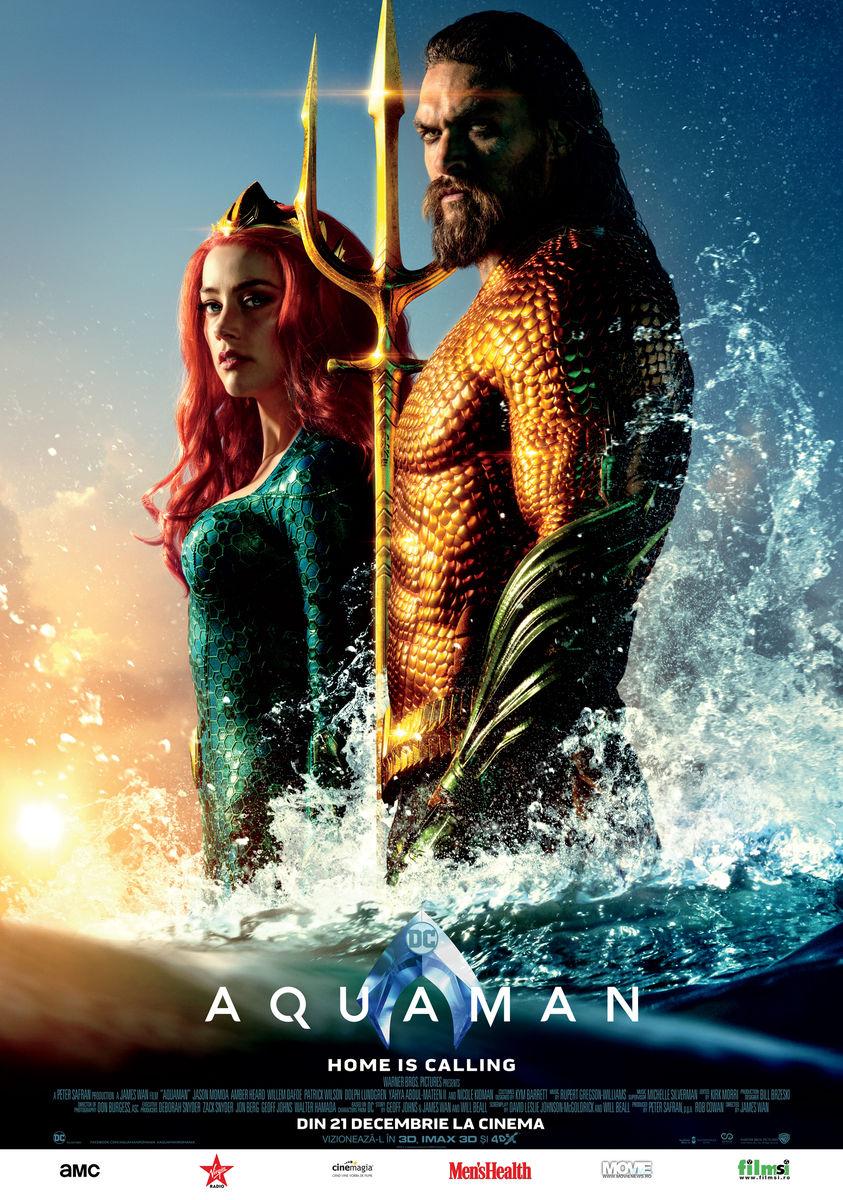 Aquaman (2018) Online Gratis Subtitrat