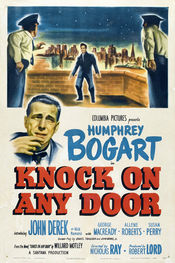 Poster Knock on Any Door