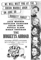 Poster The Huggetts Abroad