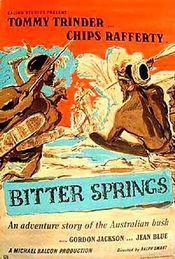 Poster Bitter Springs