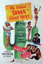 Poster My Friend Irma Goes West