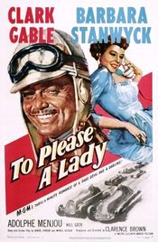 Poster To Please a Lady
