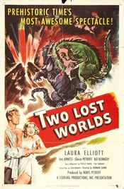 Poster Two Lost Worlds