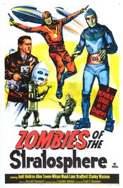 Poster Zombies of the Stratosphere