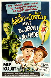 Poster Abbott and Costello Meet Dr. Jekyll and Mr. Hyde