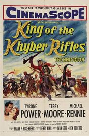 Poster King of the Khyber Rifles
