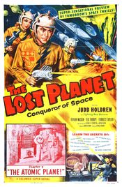 Poster The Lost Planet