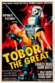 Poster Tobor the Great