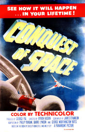 Poster Conquest of Space