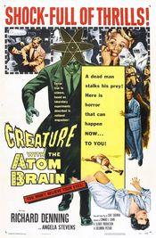 Poster Creature with the Atom Brain
