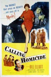 Poster Calling Homicide