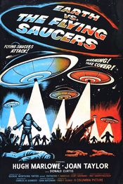 Poster Earth vs. the Flying Saucers