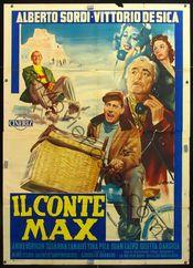 Poster Il conte Max