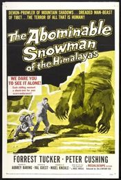 Poster The Abominable Snowman