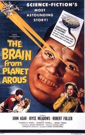 Poster The Brain from Planet Arous