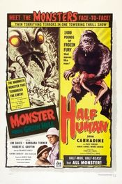 Poster Half Human: The Story of the Abominable Snowman