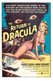 Poster The Return of Dracula