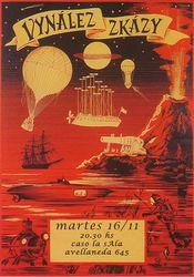 Poster Vynález zkázy
