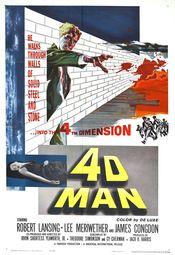 Poster 4D Man