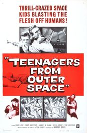 Poster Teenagers from Outer Space