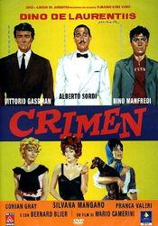 Poster Crimen