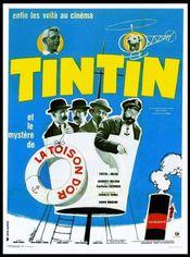 Poster Tintin et le mystère de la toison d'or