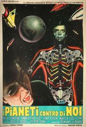 Poster I pianeti contro di noi