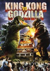 Poster Kingu Kongu tai Gojira