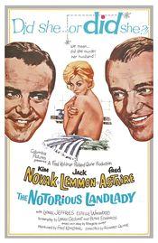 Poster The Notorious Landlady